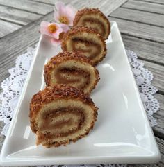Danish Dessert, Plum Cake, Food Cakes, Cake Pans, I Love Food, Cake Recipes, Tart, Food And Drink, Sweets