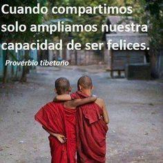 〽️Cuando compartimos, sólo ampliamos nuestra capacidad de ser felices.
