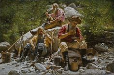 Miners at Lunch, Alfredo Rodriguez