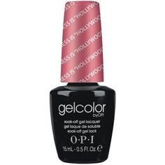 "OPI GelColor My Address is """"Hollywood"""" Size 0.5 oz/15ml. Made in USA. Brand new, genuine.  OPI Gelcolor Soak off gel polish applies just like traditional nail polish, but gives your nails a super sh"