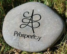Zibu symbol for prosperity