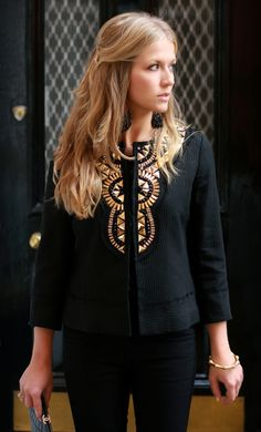 perfect studded jacket.