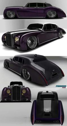 custom cars Bentley-custom 1960 artworks by raymondpicasso by raymondpicasso on DeviantArt Luxury Sports Cars, Vintage Sports Cars, Custom Muscle Cars, Custom Cars, Custom Classic Cars, Bugatti, Bmw Autos, Weird Cars, Futuristic Cars