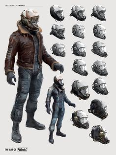 The Art of Fallout 4 Fallout 4 Concept Art, Fallout Fan Art, Game Concept Art, Character Concept, Character Art, Character Design, Fallout Bos, Fallout 4 Weapons, Fallout Facts