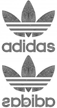 Adidas Pvc Pipe Crafts, Bling Shirts, Famous Logos, Melting Beads, Rhinestone Transfers, Silhouette Cameo Projects, String Art, Design Crafts, Cross Stitch Patterns