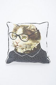 Darlene Cat Cushion - Urban Outfitters