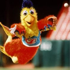 San Diego Chicken, an unofficial Padres mascot.