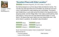Check us out on Trip Advisor, Flip Key and VRBO for our reviews!   http://www.flipkey.com/whistler-condo-rentals/p255104/  http://www.alluradirect.com/1456/  http://www.vrbo.com/188982