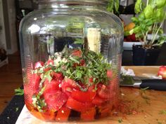 Sunshine Tomatoes - Let the summer sun do the cooking. Incredibly easy and delicious!