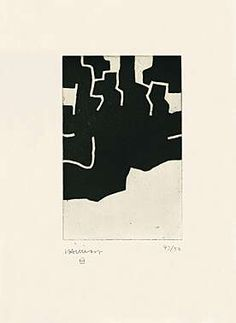 Eduardo Chillida (1924-2002), Adikaitz, 1970. Etching and aquatint. Plate size: 20cm H x 13cm W. Sheet size: 65.7cm H x 52cm W. Edition of about 64 copies.