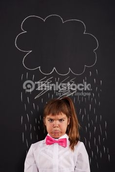 Stock Photo: I have very bad day!
