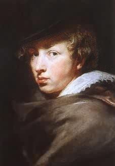 Van Dyck self-portrait? or a Rubens?