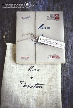 Our handmade packaging