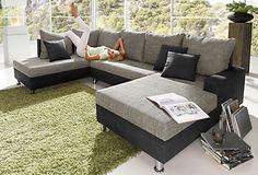 Wohnlandschaft, Sit & More, mit Bettfunktion in Microfaser PRIMABELLE® / Struktur im QUELLE Online Shop