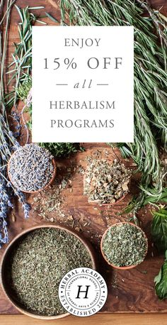 Go Back to School this Autumn with the Herbal Academy! Begin or enhance your herbal studies - learn about the properties & applications of herbs, discover how to make your own remedies, and find plenty of recipes for inspiration. Join this thriving herbal community and save 15% off all herbal courses and path packages - sale runs through September 18th!