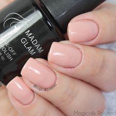 Magically Polished  Nail Art Blog : @madam_glam : Delicacy