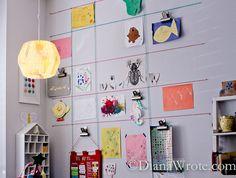 Our Land of Nod Homeschool Room Tour | Diana Wrote