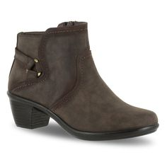 Easy Street Dawnta Women's Ankle Boots, Size: medium (9), Beige Oth