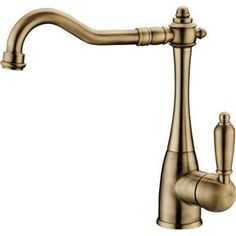 SAPHO - KAYRA stojánková dřezová baterie, bronz (K1053) Kitchen Taps, Faucet, Kitchen Faucets, Water Tap