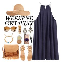 """Weekend Getaway"" by misshonee ❤ liked on Polyvore featuring Vince Camuto, Carolina Loyola, Eugenia Kim, Shwood, Chicnova Fashion, Sole Society, Charlotte Tilbury and HANBUL"