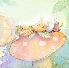 Sleeping Fairy  by: Becky Kelly