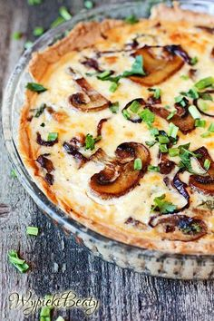 Cocina – Recetas y Consejos Quiche Recipes, Tart Recipes, Raw Food Recipes, Cooking Recipes, Chocolate Slim, Good Food, Yummy Food, Exotic Food, Breakfast Lunch Dinner