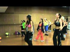 Zumba Class with Gigi at Fitness Now in Boca Raton... this is a SUPER fun Zumba video :)