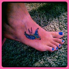 My tatto #sparrow