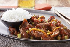 Sink your teeth into mouthwatering orange peel beef from P.F. Chang's, an Ultimate Software customer.
