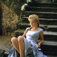 French actress, fashion model, singer and animal rights activist Brigitte Bardot