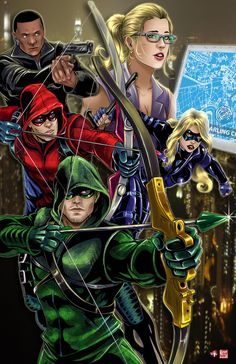 Team Arrow by TyrineCarver.deviantart.com on @DeviantArt