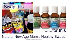 Healthy Swaps - Food Colouring - Natural New Age Mum