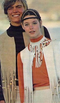 Ugly fashion! ~ Pre-Partridge Family Susan Dey as a model, early 1970s.