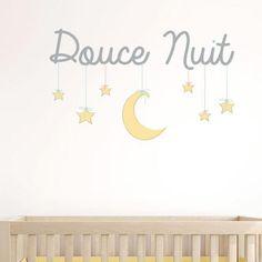 Sticker Mural Douce Nuit