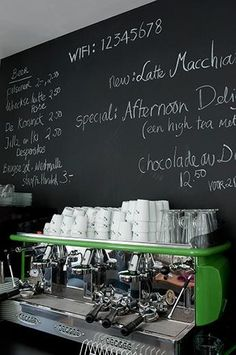 chalkpaint home coffee shop swag