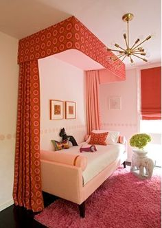 ceiling curtain for guest room