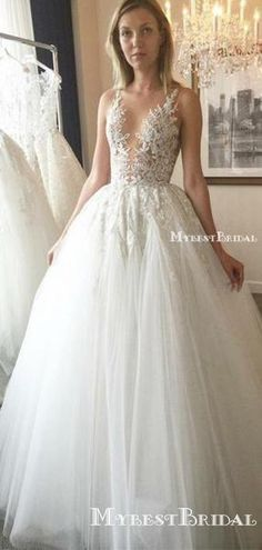 Cheap Ball Gown V-Neck Ivory Open Back Wedding Dress with – Wedding Dress Simple – Wedding Dresses Plain Wedding Dresses Near Me, Open Back Wedding Dress, Western Wedding Dresses, Princess Wedding Dresses, Cheap Wedding Dress, Boho Wedding Dress, Wedding Party Dresses, Bridal Dresses, Cheap Dress