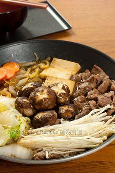 Sukiyaki - Japanese Hot Pot   Memories of eating this on field trips while living in Japan.