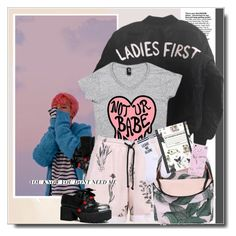 """""""Who You Need"""" by itshandra ❤ liked on Polyvore featuring GET LOST, Yeah Bunny and vintage"""