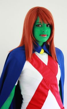 YJ - Miss Martian cosplay 2 by miarichan.deviantart.com on @deviantART