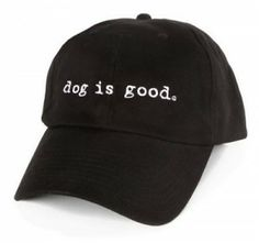Dog Is Good Signature Hat– review and #giveaway ends 2/15