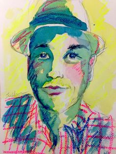 Sketchy #803: Nick Tigue by Erin Chainani