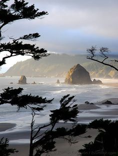 Haystack Rock, The Oregon Coast