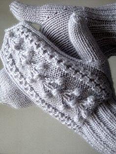 Схемы вязания узоров для варежек