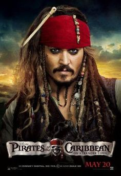 Pirates Of The Caribbean On Stranger Tides Movie Poster Puzzle Fun-Size 120 pcs