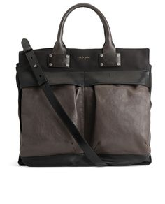 (rag and bone | large pilot bag) I'm never sure how to feel about rag and bone's inclination to stamp their name onto basically everything ever, but this bag is really cute