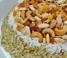 Mansaf freekeh almonds roasted almonds and comfortfood forumfinder Image collections