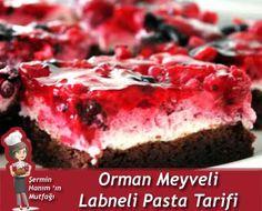 Orman Meyveli Labneli Pasta nasıl yapılır? Pratik Orman Meyveli Labneli Pasta tarifi resimli anlatımı ve nefis
