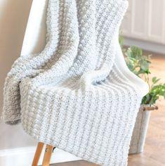 Crochet Blanket Size Chart Printable - EasyCrochet.com Puff Stitch Crochet, Crochet Ripple, Afghan Crochet Patterns, Crochet Afghans, Crochet Stitches, Crochet Dishcloths, Chevron Crochet Blanket Pattern, Crocheting Patterns, Crochet Borders