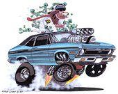 """SUPER NOVA"" 1970 Chevy Nova by Vince Crain"